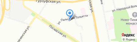 Почтовое отделение №86 на карте Екатеринбурга