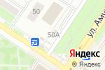 Схема проезда до компании Комиссионер в Екатеринбурге