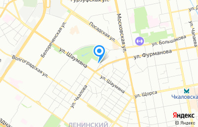 Местоположение на карте пункта техосмотра по адресу г Екатеринбург, ул Чкалова, стр 4