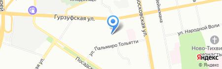 Детский сад №356 на карте Екатеринбурга