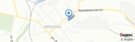 Орион-Д на карте Екатеринбурга