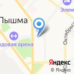 Аптека24.ру на карте Верхней Пышмы