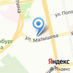 Парадокс на карте Екатеринбурга