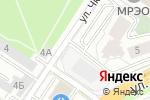 Схема проезда до компании АМАРАНТ в Екатеринбурге