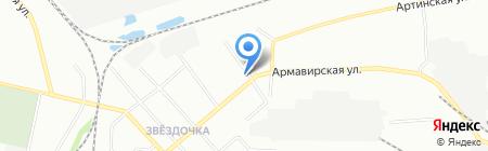 Звёздочка на карте Екатеринбурга