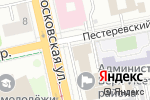 Схема проезда до компании Планета Суши в Екатеринбурге