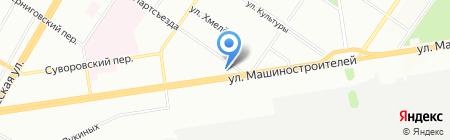 Мастер Сервис Метролоджи Групп на карте Екатеринбурга