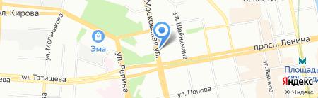 Деньги в займ на карте Екатеринбурга