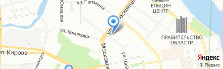 Альянс Транс-Азия на карте Екатеринбурга