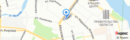 БРААС-ДСК1 на карте Екатеринбурга