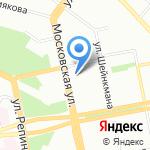 Администрация Верх-Исетского района на карте Екатеринбурга