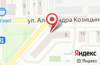 Схема проезда до компании АстраИнвестСтрой в Верхней Пышме