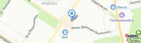Beauty на карте Екатеринбурга