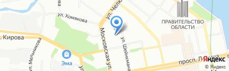 Уралкурортсервис на карте Екатеринбурга