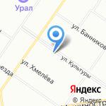 Лана на карте Екатеринбурга