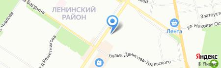 Новая больница на карте Екатеринбурга