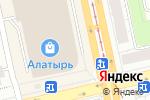 Схема проезда до компании Ю)Line в Екатеринбурге