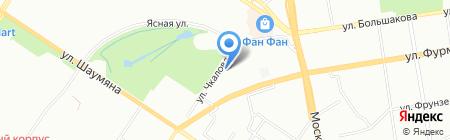 Банкомат Банк Москвы на карте Екатеринбурга