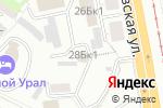 Схема проезда до компании СДЮСШОР горных видов спорта в Екатеринбурге