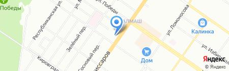 Масла & Смазки на карте Екатеринбурга