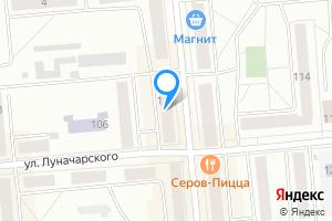 Однокомнатная квартира в Серове ул. Луначарского, 110