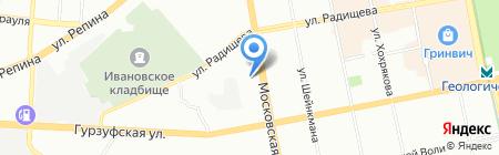 Технологии для бизнеса на карте Екатеринбурга