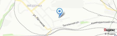 СМК-Урал на карте Екатеринбурга