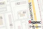 Схема проезда до компании Кластер в Екатеринбурге