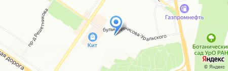 ELITE CAR на карте Екатеринбурга