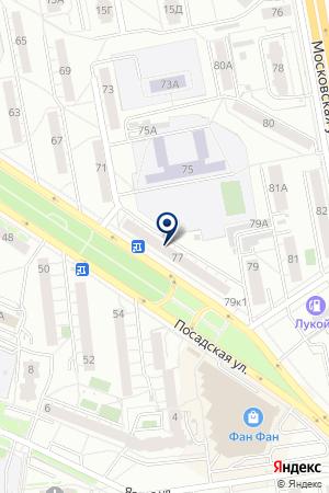 Эпиона на карте Екатеринбурга