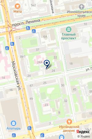 Бизнес иправо на карте Екатеринбурга