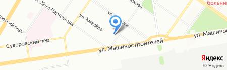 Уралпром на карте Екатеринбурга