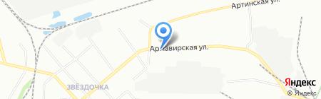 Лидер-плюс на карте Екатеринбурга