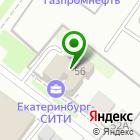 Местоположение компании Екатеринбург-СИТИ