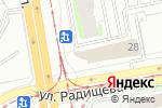 Схема проезда до компании Кардиган в Екатеринбурге