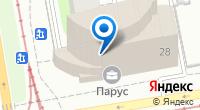Компания Акула Веб на карте