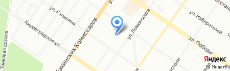 Детский сад №163 на карте Екатеринбурга