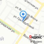 У бобра на карте Екатеринбурга