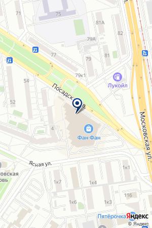 Парк развлечений Hippo на карте Екатеринбурга