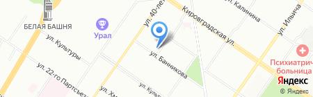 УНИОН на карте Екатеринбурга