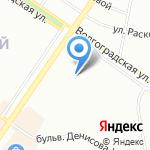 Инжениум на карте Екатеринбурга