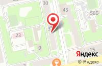 Схема проезда до компании Металлургия Коммерция Технологии Проектирование в Екатеринбурге