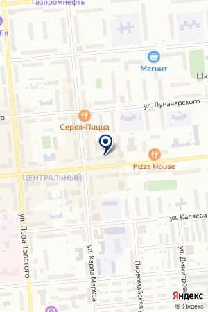 БАНКОМАТ СКБ-БАНК на карте Серова