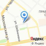 Эстетик Оранж на карте Екатеринбурга