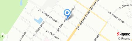 Silver Car на карте Екатеринбурга