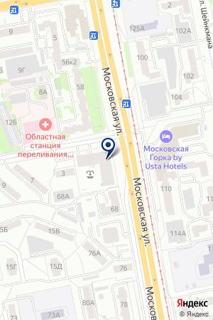ЮНИТЕКС на карте Екатеринбурга