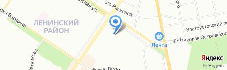 УралДетальСервис на карте Екатеринбурга