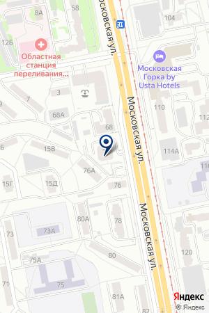 Маракана на карте Екатеринбурга