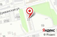 Схема проезда до компании Дерби в Екатеринбурге