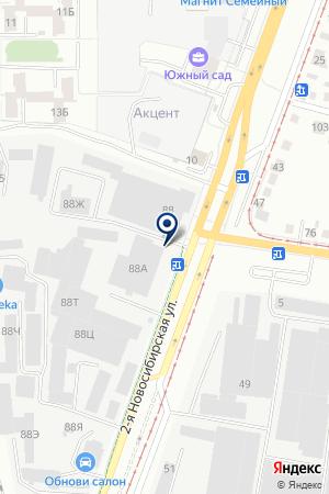 Флоризель на карте Екатеринбурга